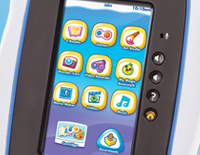 10 onboard apps including My Magic Beanstalk Game, Wonder Cam, Movie Maker and more