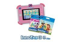 InnoTab 3S Plus with 2 Cartridges Bundle - Pink