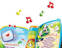 40+ songs, melodies, sounds and phrases
