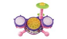 KidiBeats Drum Set - Pink