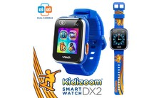 Kidizoom® Smartwatch DX2 (Skateboard Swoosh with Bonus Royal Blue Wristband)