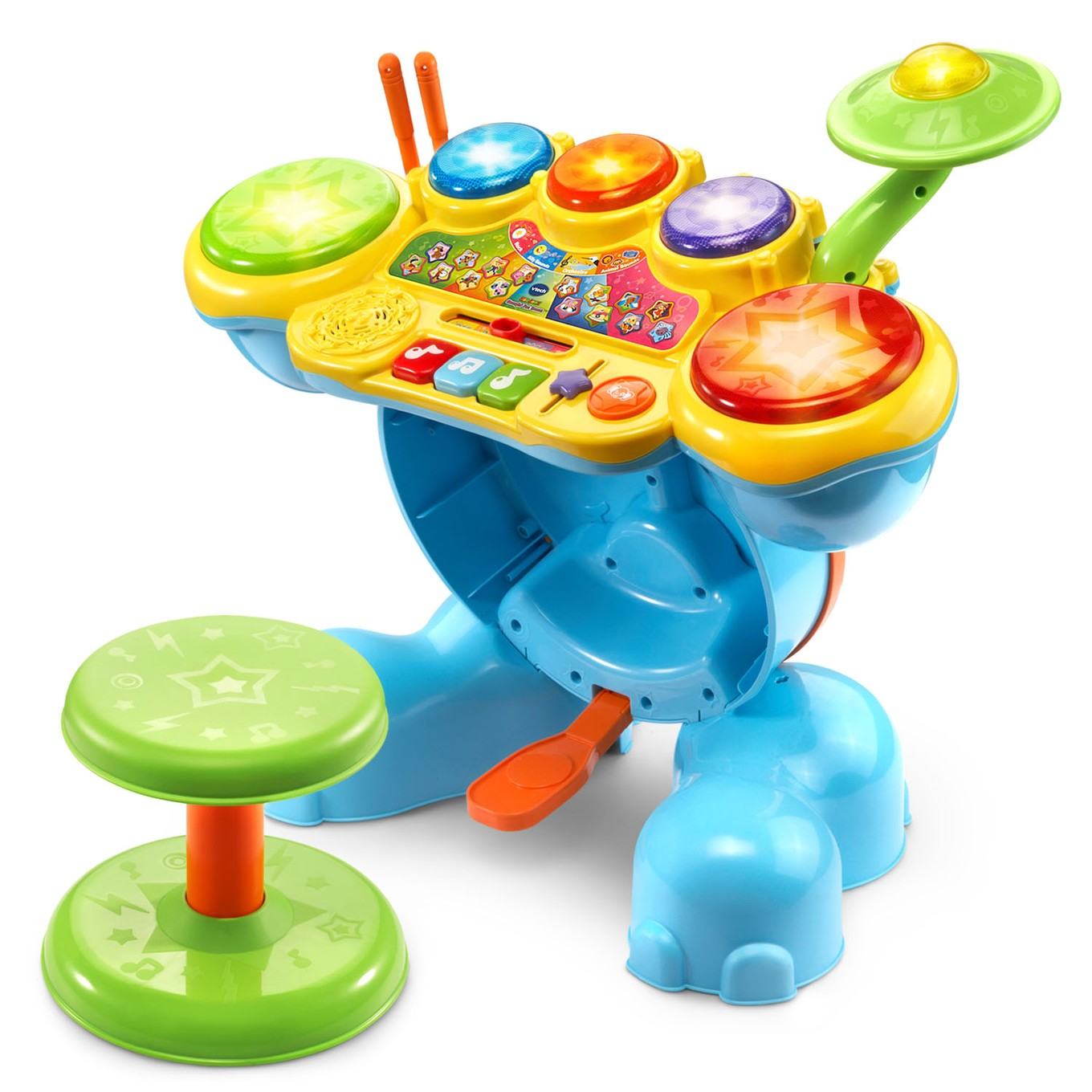 Zoo Jamz Stompin Fun Drums Vtech 174