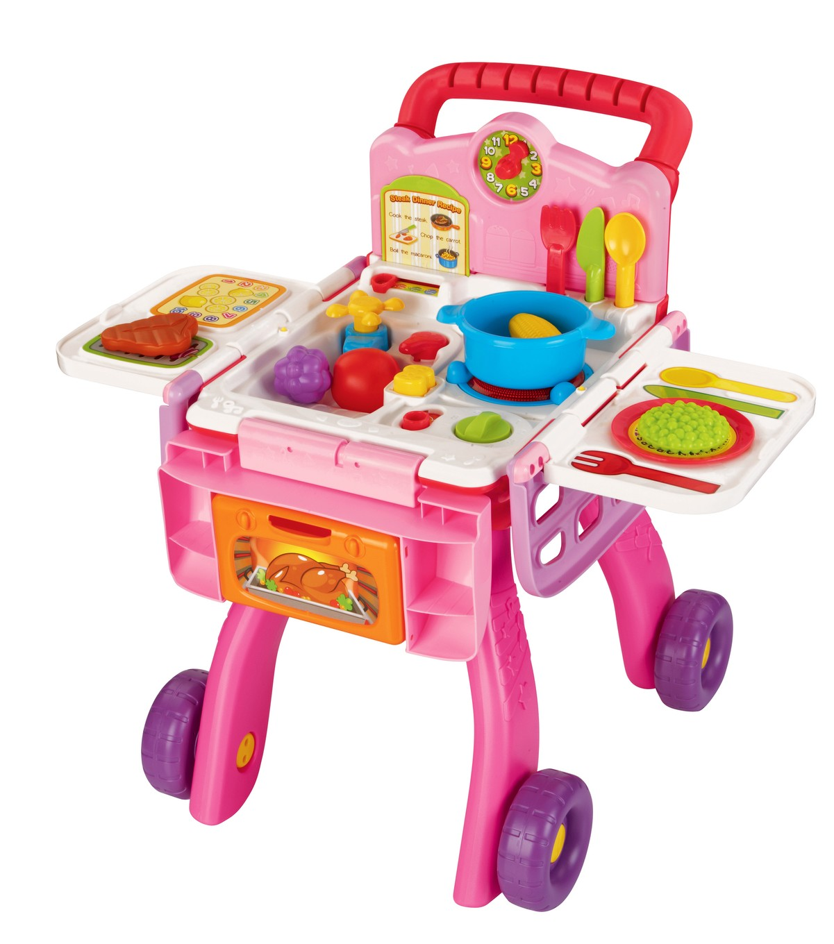 in-1 Shop & Cook Playset - Pink