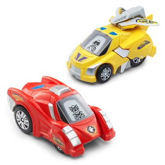 Vtech Switch and Go Dinos T-don The Pteranodon Red Car