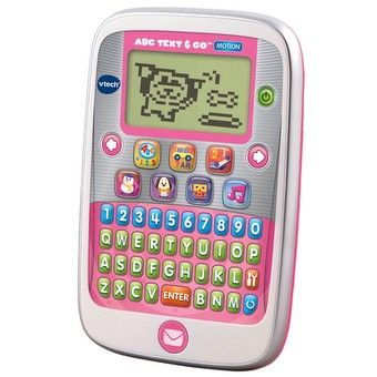 ABC Text & Go Motion Pink