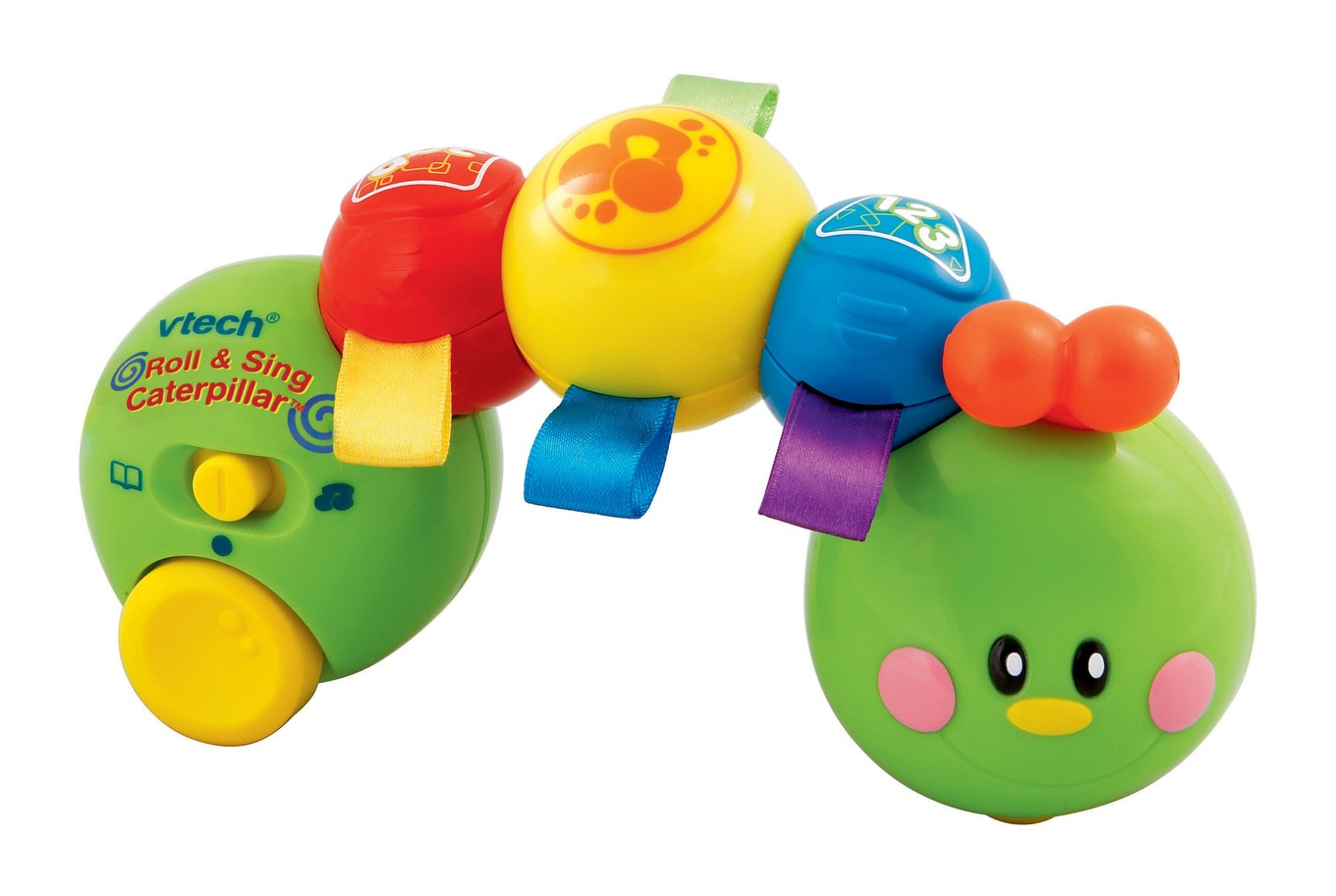 Roll & Sing Caterpillar | Infant Learning Toy | Vtechk