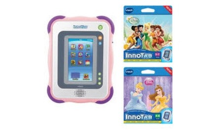 InnoTab Gift Set: Disney Games (Pink)