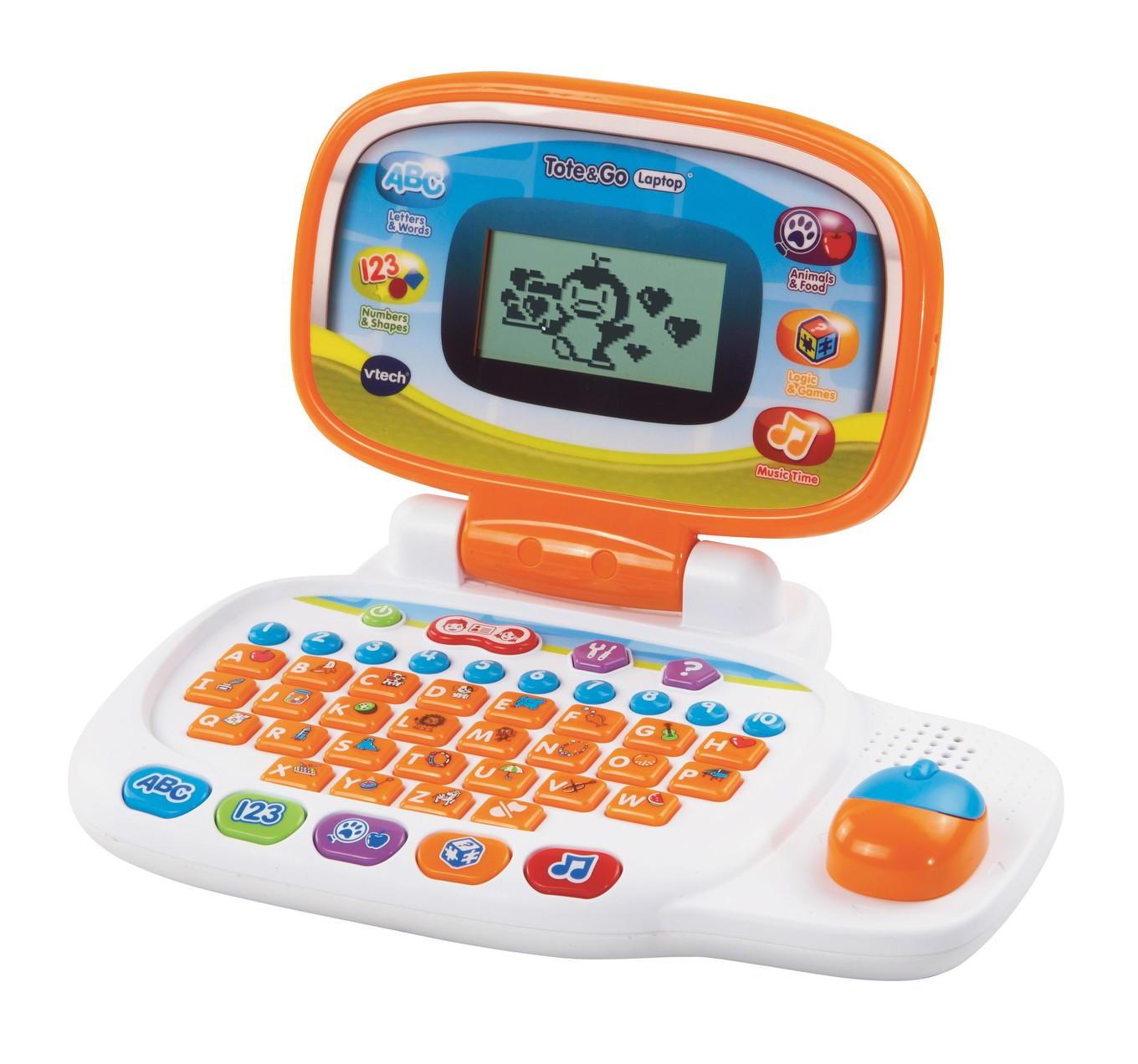 Pink VTech Tote and Go Laptop