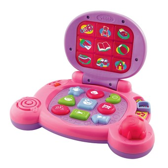 Baby's Learning Laptop Pink