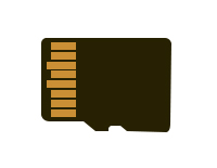 Expandable Memory (To store all your adventures, a microSD card is required. Sold separately.)