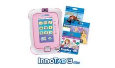 InnoTab 3 Plus with 3 Cartridges Bundle - Pink