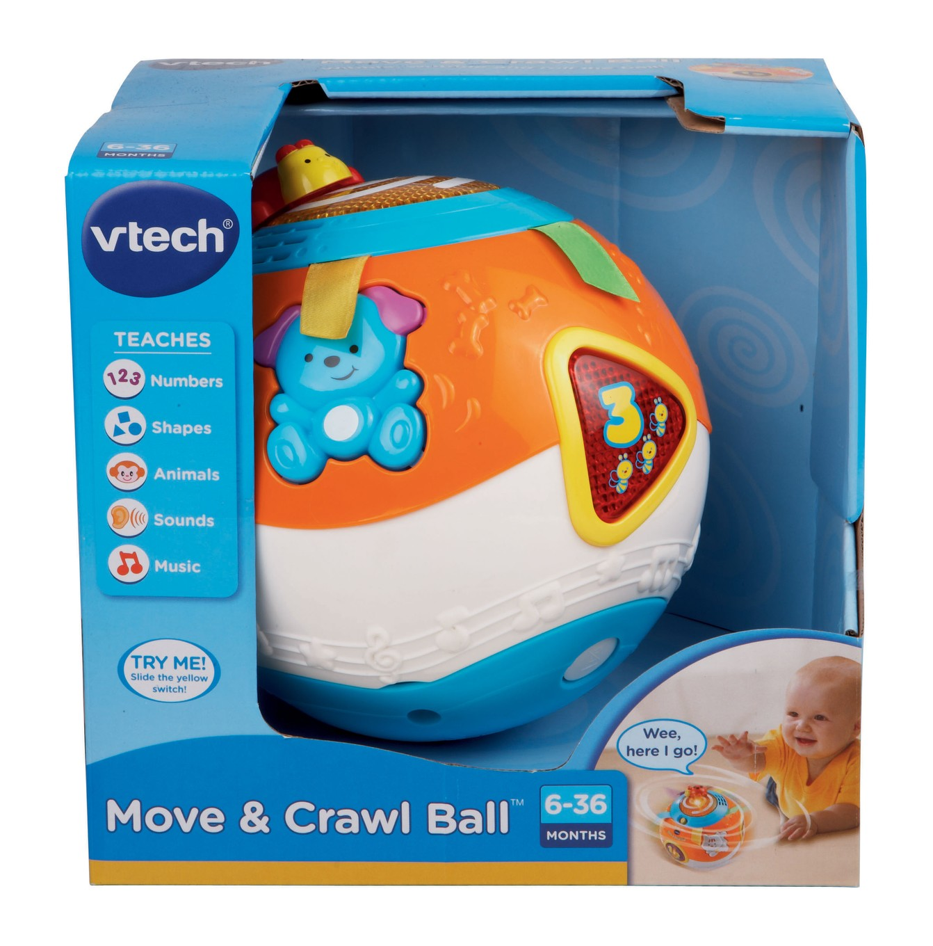 Best Educational Toys 2012 : Review vtech learning toys for babies on the move