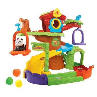 Go! Go! Smart Animals - Tree House Hideaway Playset