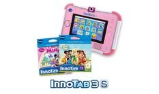 InnoTab 3S with 2 Cartridges Bundle - Pink