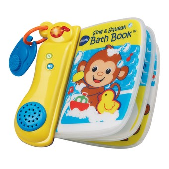 Sing & Squeak Bath Book