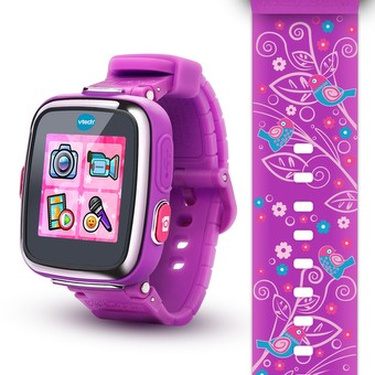 Kidizoom® Smartwatch DX - Floral Swirl with Bonus Vivid Violet Wristband