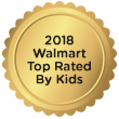 2018 Walmart Top Rated By Kids