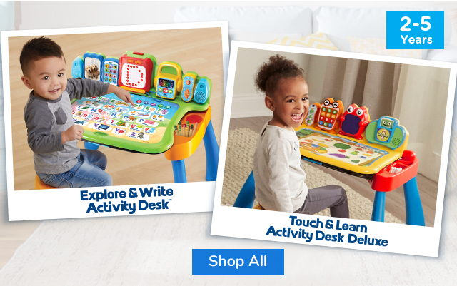 Shop All Touch and Learn Activity Desk Deluxe and Touch & Learn Activity Desk Deluxe