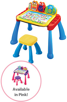Touch & Learn Activity Desk Deluxe, also available in pink