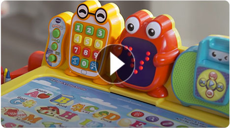 Touch & Learn Activity Desk Deluxe<sup>™</sup> Features - video thumbnail