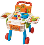 2-in-1 Shop & Cook Playset