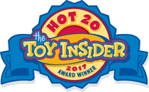 Hot 20. The Toy Insider 2017 Award Winner.