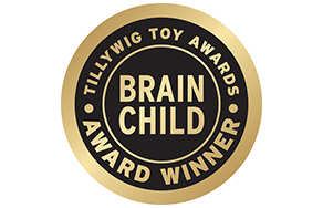 Tillywig Toy Awards. Brain Child. Award Winner.