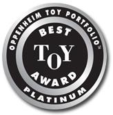 Oppenheim Toy Portfolio. Best Toy Award. Platinum