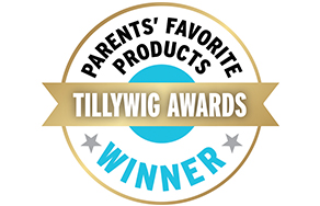 PARENTS' FAVORITE PRODUCTS. TILLYWIG AWARDS. WINNER.