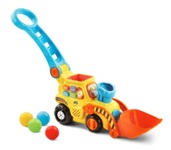 Pop-a-Balls™ Push & Pop Bulldozer™