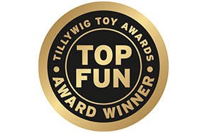 TILLYWIG TOY AWARDS. TOP FUN. AWARD WINNER