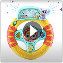 VTech® Grip & Go Steering Wheel™ - video thumbnail