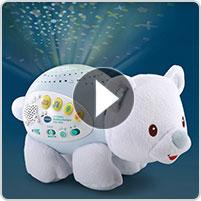 VTech® Lil' Critters Soothing Starlight Polar Bear™ - video thumbnail