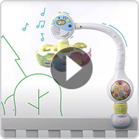 VTech® Soothing Songbirds Travel Mobile™ - video thumbnail