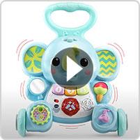 VTech® Toddle & Stroll Musical Elephant Walker™ - video thumbnail