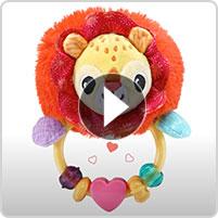 VTech® Touch & Discover Lion Rattle™ - video thumbnail