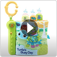VTech® Turtle's Busy Day Soft Book™ - video thumbnail