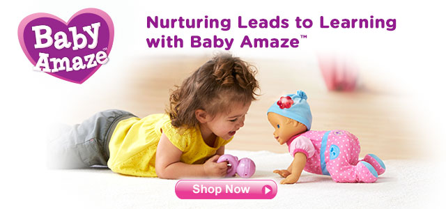 Nurturing Leads to Learning with Baby Amaze. Shop Now.