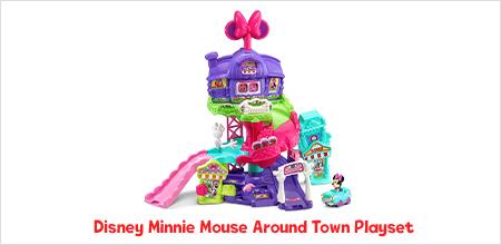Disney Minnie Mouse Around Town Playset
