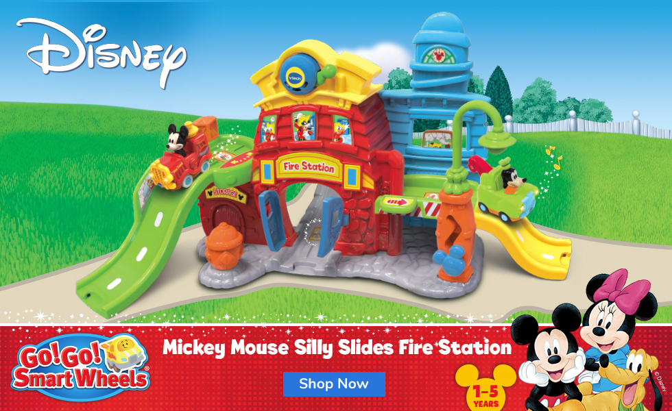 Go Go Smart Wheels Mickey Silly Slides Fire Station