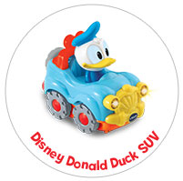 Donald Duck SUV