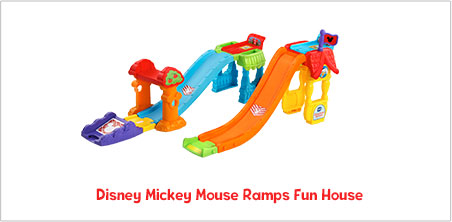 Disney Mickey Mouse Ramps Fun House - image