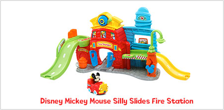 Disney Mickey Mouse Silly Slides Fire Station - image