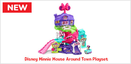 Disney Minnie Mouse Around Town Playset - image