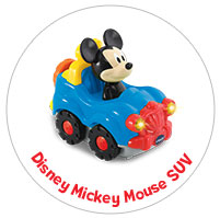 Mickey Mouse SUV