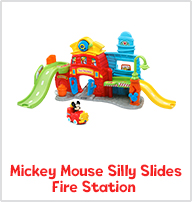 Mickey Mouse Silly Slides Fire Station