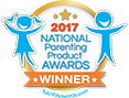 2017 National Parenting Product Awards Winner.