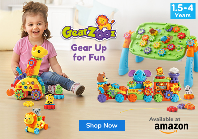 Gear Up for Fun with GearZooz™