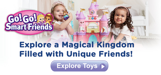 Build a Magical Kingdom Filled with Unique Friends!