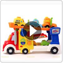 Go! Go! Smart Wheels® Big Rig Car Carrier™